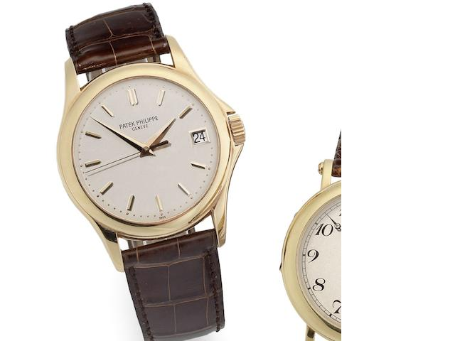 Patek Philippe. An 18ct rose gold automatic calendar wristwatch Ref:5127R-001, Movement No.3402660, Sold 19th October 2005