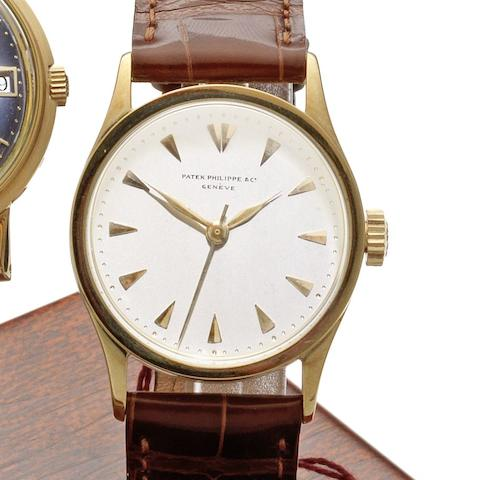 Patek Philippe. An 18ct gold manual wind wristwatch Ref:48612, Case No.295116, Movement No.828087, Circa 1935