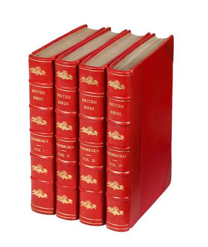 THORBURN (ARCHIBALD) British Birds, 4 vol., fine binding, 1925