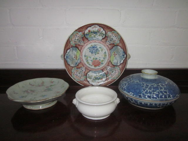 A collection of Chinese ceramics late 19th/20th Century in date