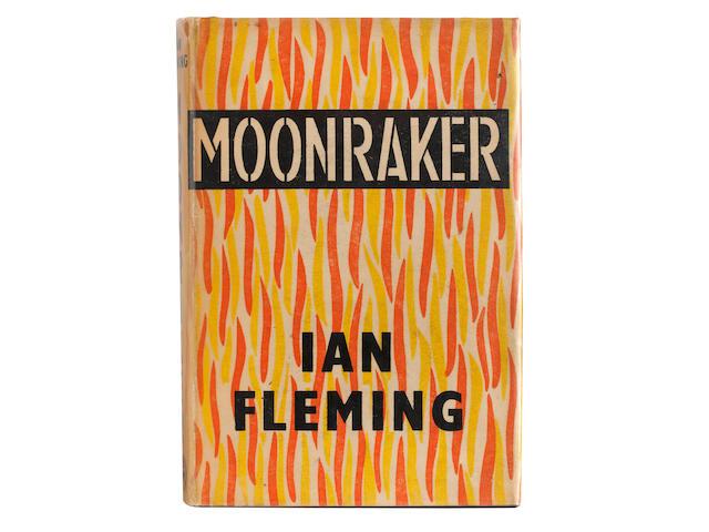 FLEMING (IAN) Moonraker, FIRST EDITION, Jonathan Cape, [1955]