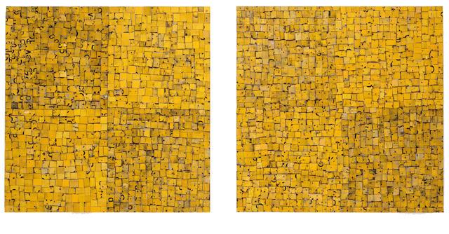Rosalie Gascoigne (1917-1999) Sunflowers 1991