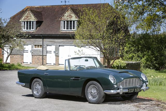 1964 Aston Martin DB5 Convertible  Chassis no. DB5C/1503/R Engine no. 400/1591