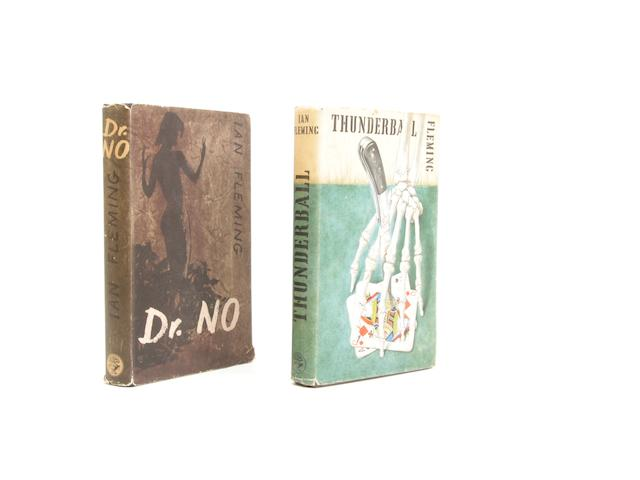 FLEMING (IAN) Dr No, [1958]; Thunderball, [1961], FIRST EDITIONS