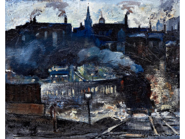 William Turner (born Chorlton-on-Medlock 1920) 'Northern Railway Station'