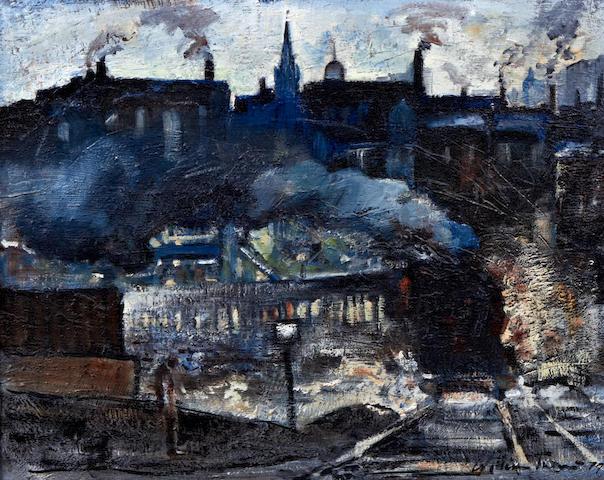 William Turner (born Chorlton-on-Medlock 1920) 'Northern Railway Station'
