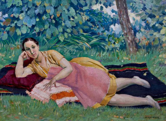 Adolphe Valette (French, 1876-1942) 'Après-midi'