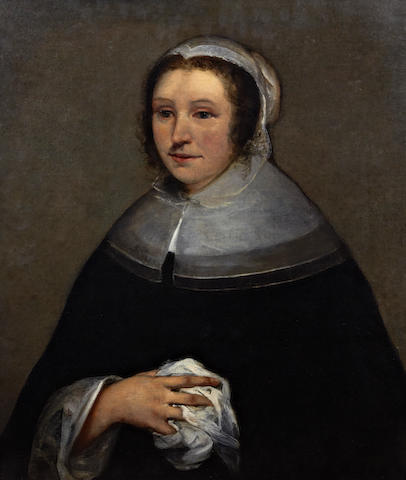 Dutch School, (mid 17th century) Portrait of a lady