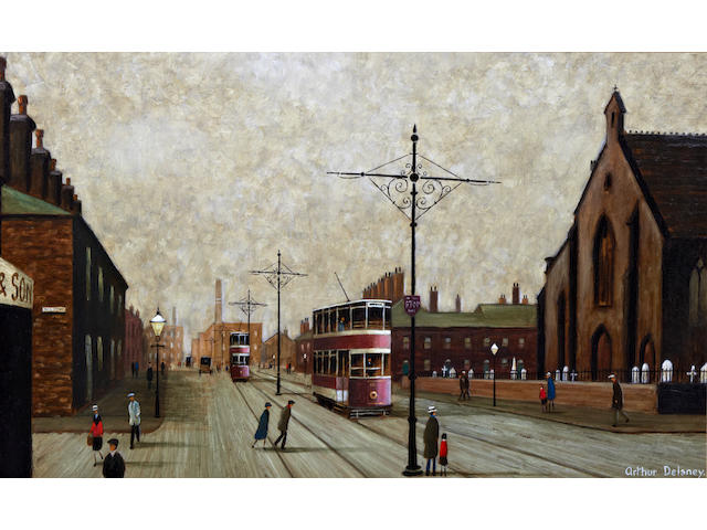 Arthur Delaney (British, 1927-1987) 'Portwood, Stockport'