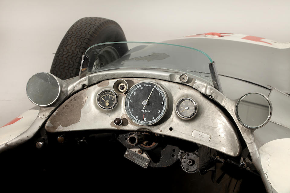 The Ex-Juan Manuel Fangio, Hans Herrmann, Karl Kling, German and Swiss Grand Prix Winning,1954 Mercedes-Benz W196R Formula 1 Racing Single-Seater  Chassis no. 196 010 00006/54