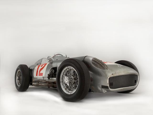 Ex-works/Juan Manuel Fangio,1954 Mercedes-Benz W196