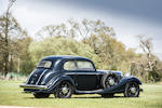 1937 Mercedes-Benz 540K Sports Saloon  Chassis no. 169341 Engine no. 169341