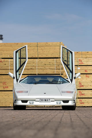 1990 Lamborghini Countach 25th Anniversary Coupé  Chassis no. ZA9C005A0KLA12868 Engine no. 12868
