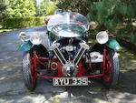 1934 Morgan Sports, Chassis no. D1055 Engine no. LTOWZ/D26826/SKC