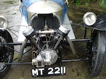 1929 Morgan-Anzani Aero, Chassis no. 1251A Engine no. M31321