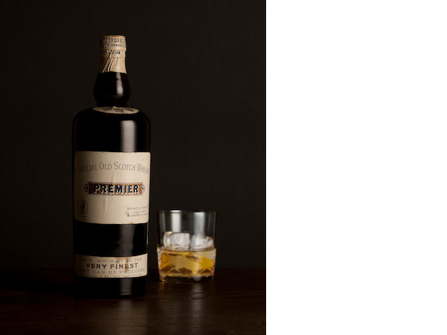 Premier Special Old Scotch Whisky-Early 20th Century