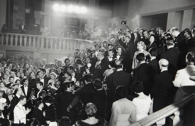 David Seymour (American, 1911-1956): Ingrid Bergman, Cannes Film Festival,  1956,