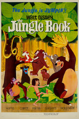 The Jungle Book,  Walt Disney/ Buena Vista, 1967,