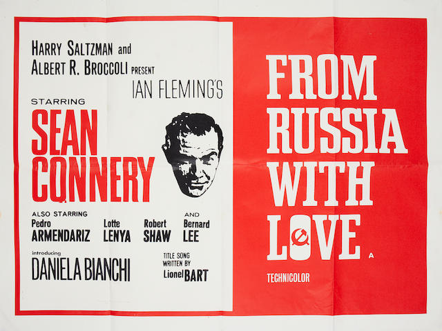 From Russia With Love, Eon/ United Artists, 1963,
