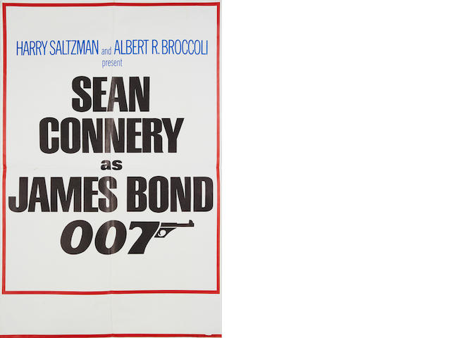 Diamonds Are Forever,  United Artists, 1971, 3