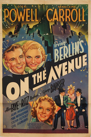 On The Avenue, Twentieth Century Fox, 1937, 4
