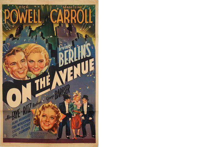 On The Avenue,  20th Century Fox, 1937, 4
