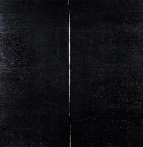 Callum Innes (British, born 1962) Agitated Vertical