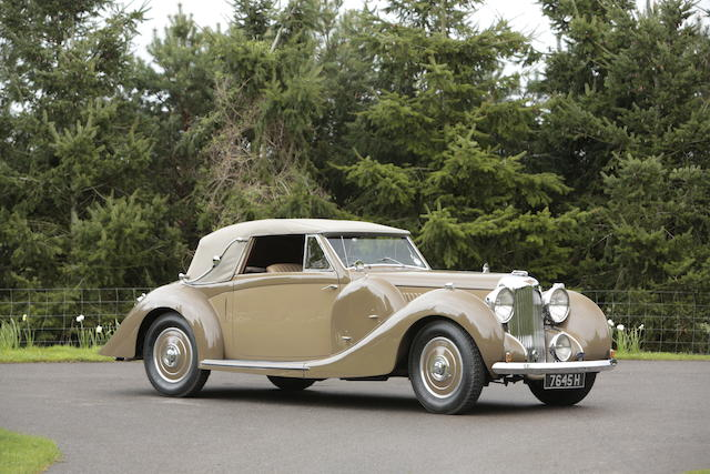 Formerly part of the Holthusen Collection,1939 Lagonda V12 Drophead Coupé  Chassis no. 14065 Engine no. 14065