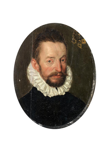 Attributed to Cornelis Ketel (Gouda 1548-1616 Amsterdam) Portrait of a gentleman, bust-length,