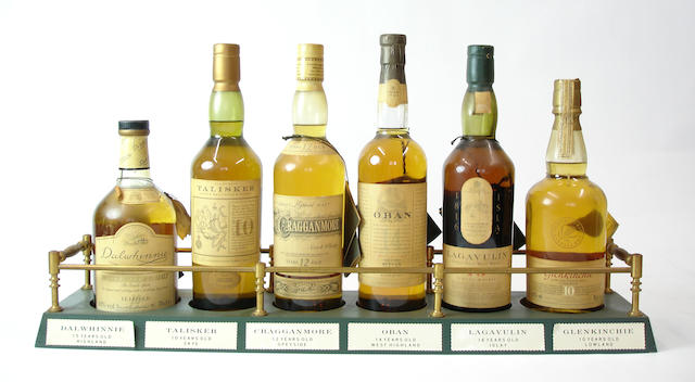 The Distillers Edition single malts comprising (5):