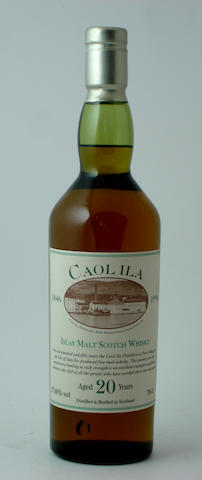 Caol Ila 150th Anniversary-20 year old