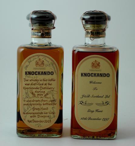 Knockando-1979<BR /> Knockando-Bottled 1997