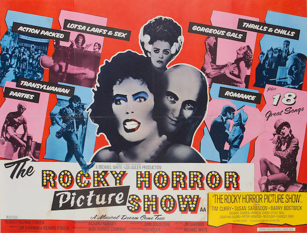 The Rocky Horror Picture Show, Twentieth Century Fox, 1975,