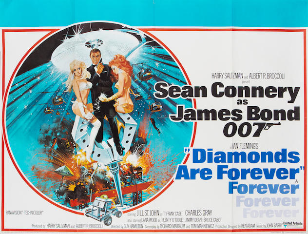 Diamonds Are Forever, Eon / United Artists, 1971,