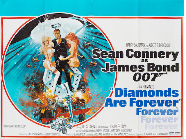 Diamonds Are Forever, United Artists / Eon, 1971,