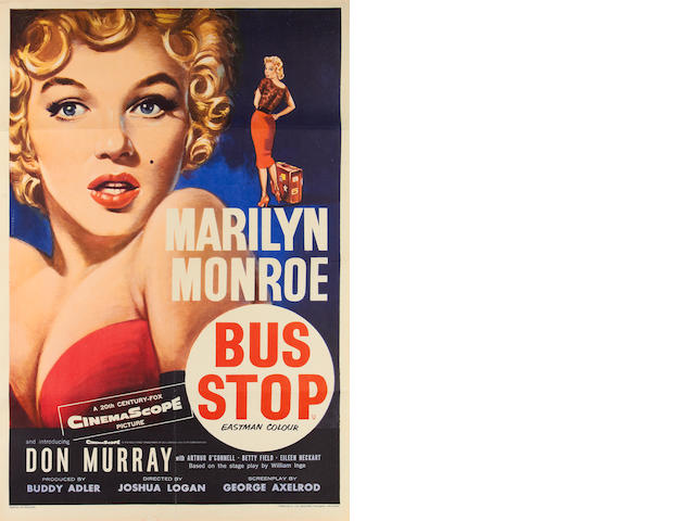 Marilyn Monroe: Bus Stop, Twentieth Century Fox, 1956,