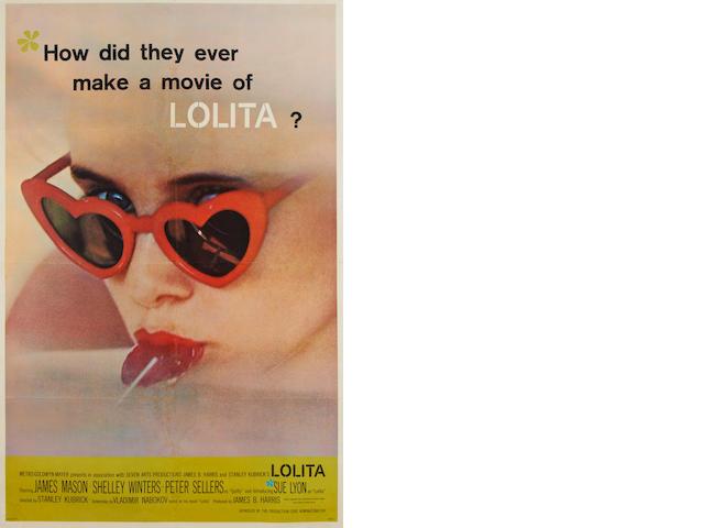 Lolita, M.G.M, 1962,