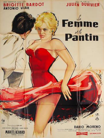 La Femme Et La Patin / A Woman Like Satin, Pathe, 1959,