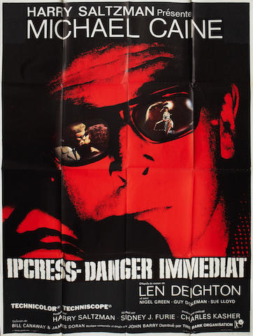 The Ipcress File / Ipcress Danger Immediat,  Universal Pictures, 1965,