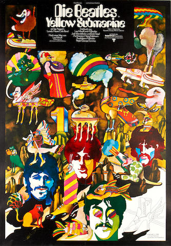 Yellow Subramine, King Featuers, 1968