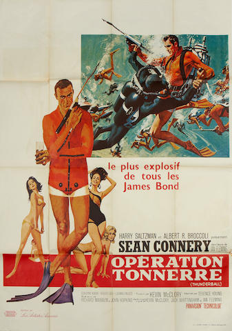 Thunderball, Eon / United Artists, 1965,