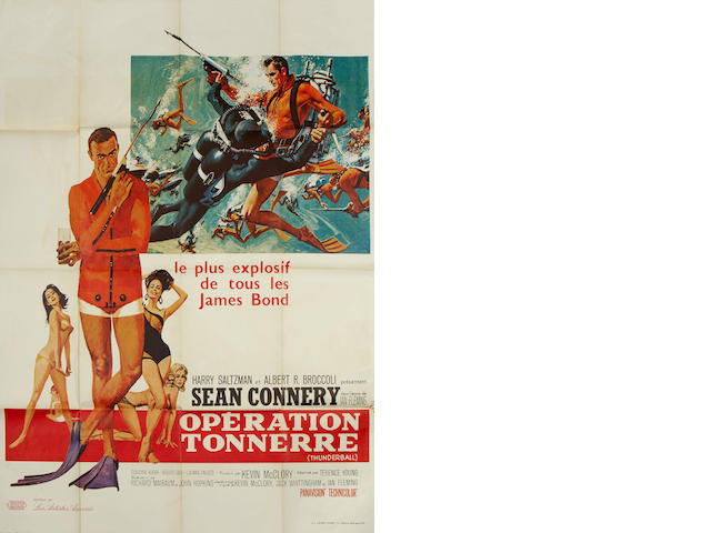 Thunderball, United Artists / Eon, 1965,