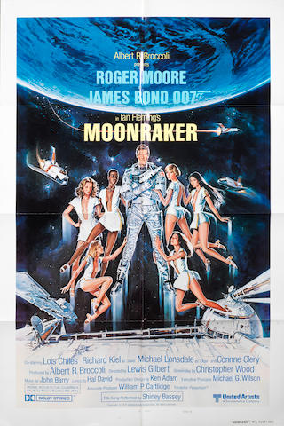 James Bond: Moonraker,  United Artists, 1979,4