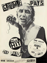 The Sex Pistols: Four promo posters for 'The Great Rock 'n' Roll Swindle', 1978,
