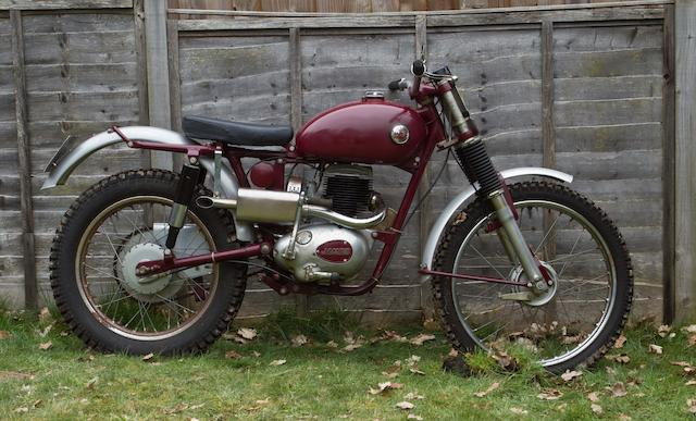 The works, ex-Brian Povey,1959 James 199cc Commando Trials Frame no. 59K7T EXP5 Engine no. 20T 1262