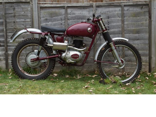The works, ex-Brian Povey 1959 James 199cc Commando Trials, Frame no. 59K7T EXP5 Engine no. 20T 1262