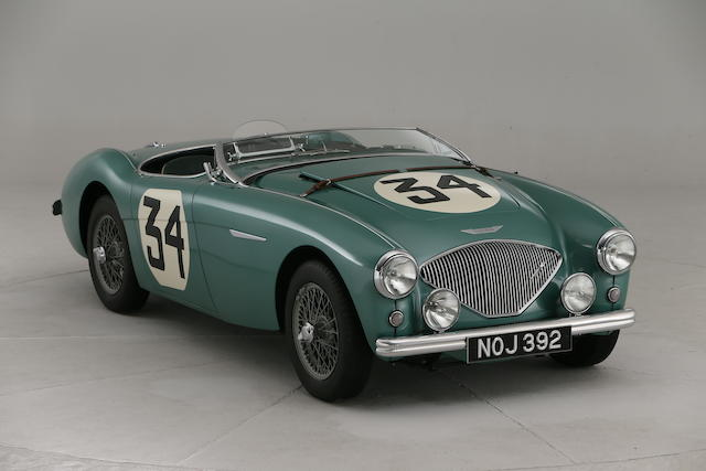 'NOJ 392' - The Ex-works Mille Miglia and Le Mans 24-Hours ,1953 Austin-Healey 100 Special Test Car  Chassis no. SPL 225B Engine no. 1B136876