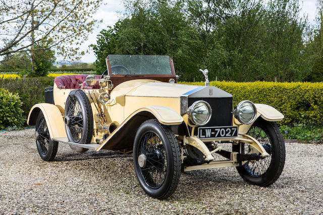 Formerly the property of Denis Flather, in the present family ownership for 48 years,1913 Rolls-Royce 45/50hp Silver Ghost London-to-Edinburgh Tourer  Chassis no. 2643 Engine no. 70R