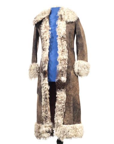 Marc Bolan: an Afghan coat,