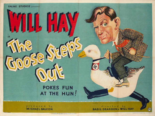 The Goose Steps Out,   Ealing Studios, 1942,
